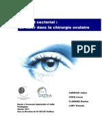 Le laser dans la chirurgie oculaire