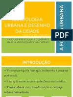 A Forma Urbana