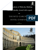 the ritz carlton hotel company the quest for service excellence