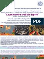 Primavera Araba (Roma Tre 29.11.11)