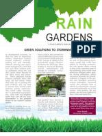 South Carolina; Rain Garden