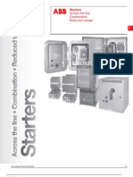 ABB; Starters, Across The Line, Combination Reduced Voltage