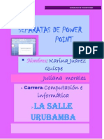 Separatas de Power Point Ojooooo