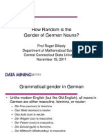 NES/MAA German Gender 11-2011 Short