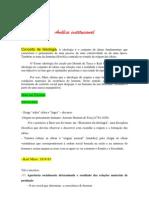 Analise Institucional Material de Aula 2. Docx