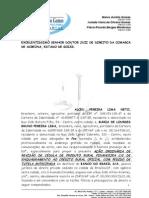 Alceu Pereira Lima Neto e Outra x Banco Do Brasil s.a. (Ordinaria de Resolucao Contratual