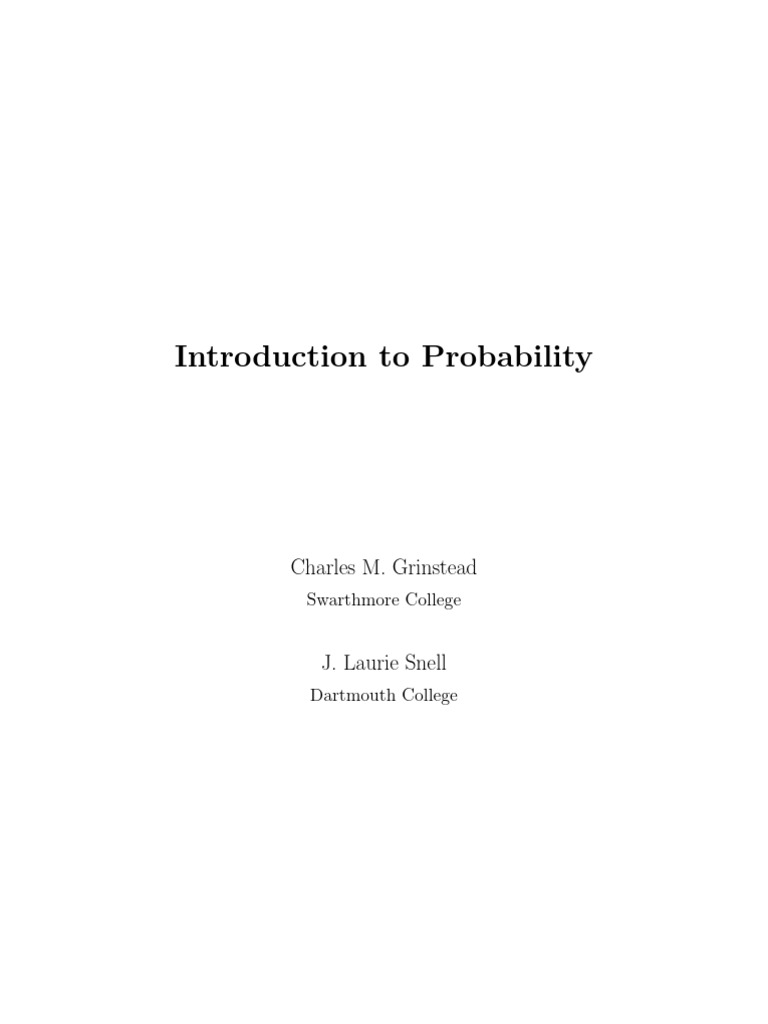 introduction to probability probability theory probability rh scribd com Probability Density Function Simple Decision Tree