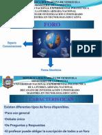 Nueva Diapositiva de Foro Chat y Grupo de Trabajo