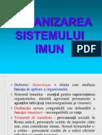 Curs 1-Org Sist Imun