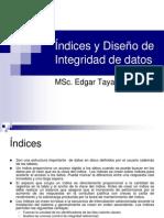 Índices y Diseño de Integridad de datos22