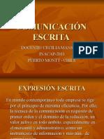 COMUNICACIÓN ESCRITA 4