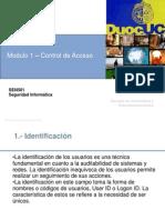 Modulo 1 - Control de Acceso v1