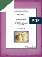 PROYECTO LA GALAXIA POÉTICA