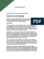 The Message of the Divine Iliad (p1)