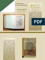 Escritura a Del Nahuatl
