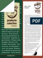Revista Producto Colectivo - Edición Diciembre de 2011