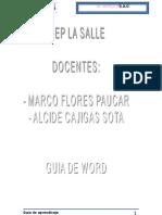 GUIA DE WORD