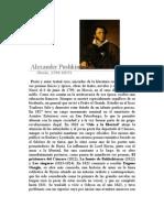 Pushkin, Alexander. El Pescador y El Pez Dorado