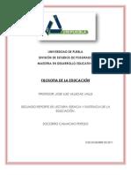 CAPITULO 4. ESENCIA Y EXISTENCIA DE LA EDUCACIÓN