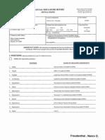 Nancy D Freudenthal Financial Disclosure Report for Freudenthal , Nancy D