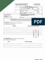 LeRoy Hansen Financial Disclosure Report for 2009