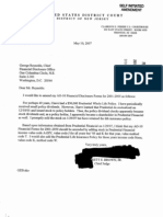 Garrett E Brown Jr Financial Disclosure Report for 2006