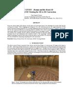 2D 3D Conversion_Beauty and the Beast 3D_Disney_Case Study - Disney