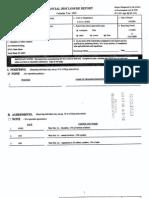 Robert L Miller Jr Financial Disclosure Report for 2003