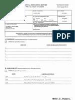 Robert L Miller Jr Financial Disclosure Report for 2010