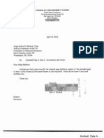 Dale A Kimball Financial Disclosure Report for 2009