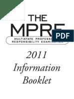 MPRE Info Book