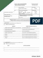 Alan B Johnson Financial Disclosure Report for 2010