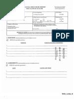 Lesley B Wells Financial Disclosure Report for 2008