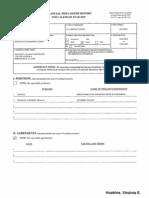 Virginia E Hopkins Financial Disclosure Report for 2010