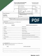 Jon O Newman Financial Disclosure Report for 2010