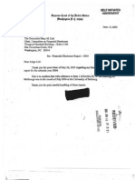 Anthony M Kennedy Financial Disclosure Report for 2004