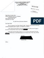 Malcolm Muir Financial Disclosure Report for 2006