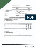 Lyonel T Senter Jr Financial Disclosure Report for 2010