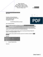 Susan J Dlott Financial Disclosure Report for 2010