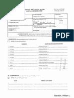 William L Standish Financial Disclosure Report for 2009
