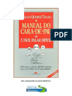 Carlos Queiroz Telles - Manual Do Cara de Pau