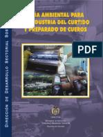 Guia Ambiental Industria Curtido y Preparado de Cueros