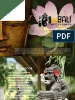 Catalogo Bali Accesorios