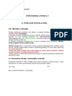 Oscilacije Harmonijske Oscilacije Matematicko Klatno, Rezonancija