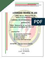 Informe de La Investigacin 1234392149385024 2