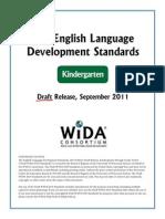 wida eld standards draft kindergarten1