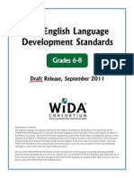 wida eld standards draft grades6-81