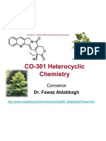CO 301 Hetero Cyclic Chemistry