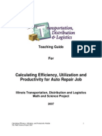 tdl auto repair efficiency module - Fixed Operations Director