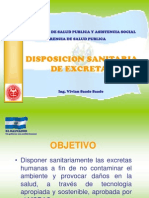 Disposicion Sanitaria de Excretas